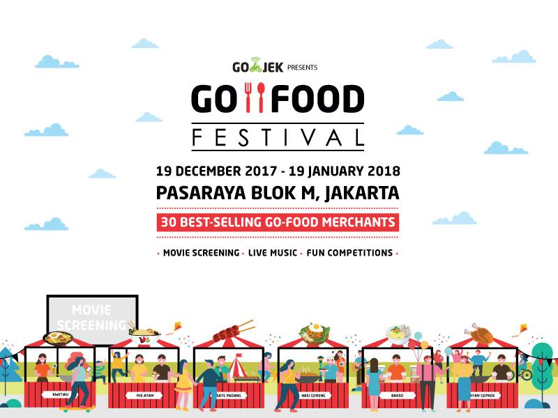 Datang dan Nantikan Berbagai Kejutan Menarik di GO-FOOD FESTIVAL