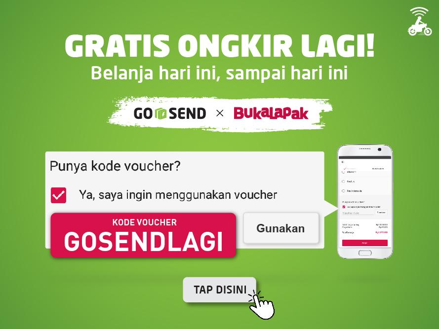 GO-SEND x Bukalapak