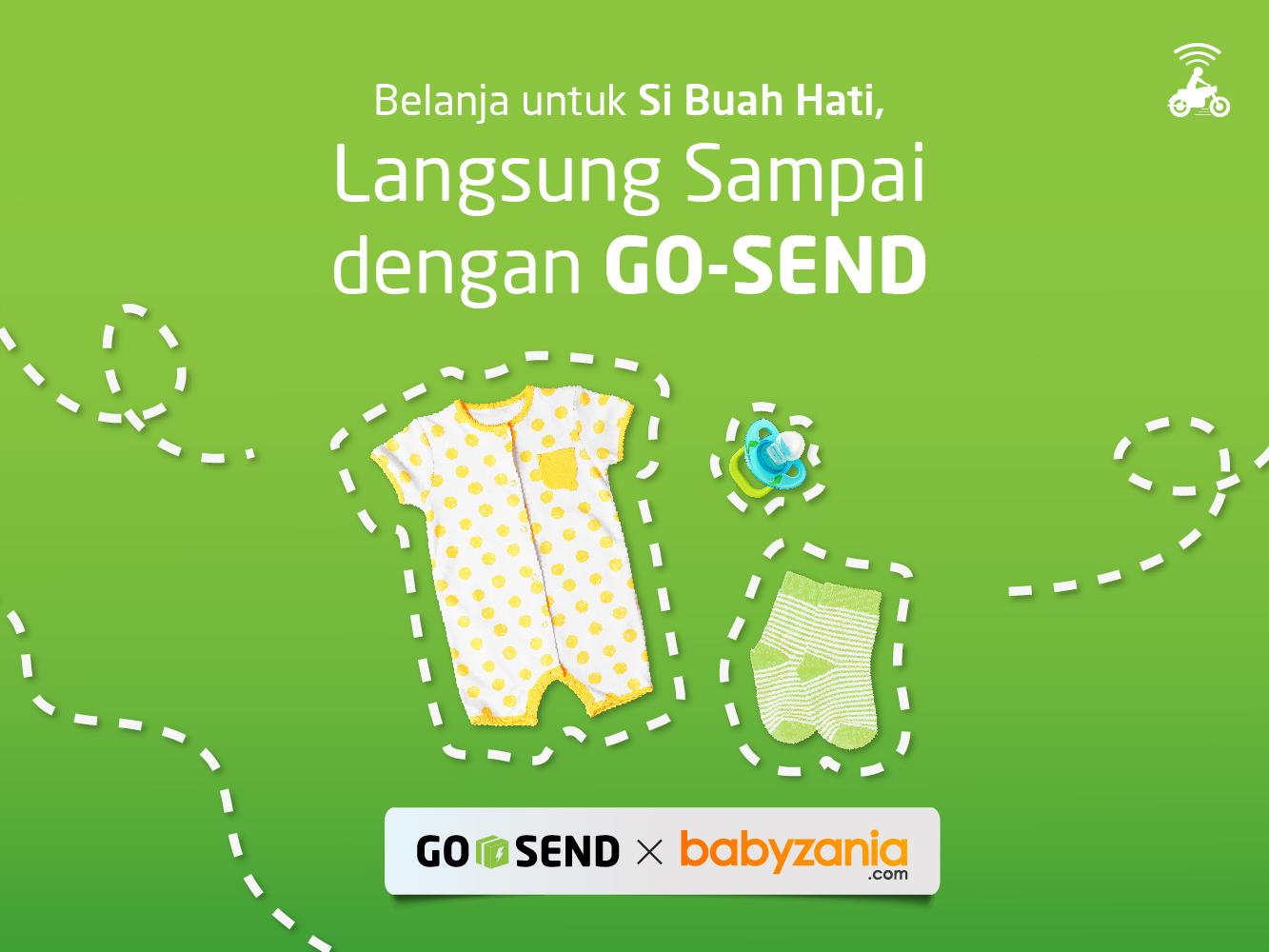 GO-SEND x Babyzania