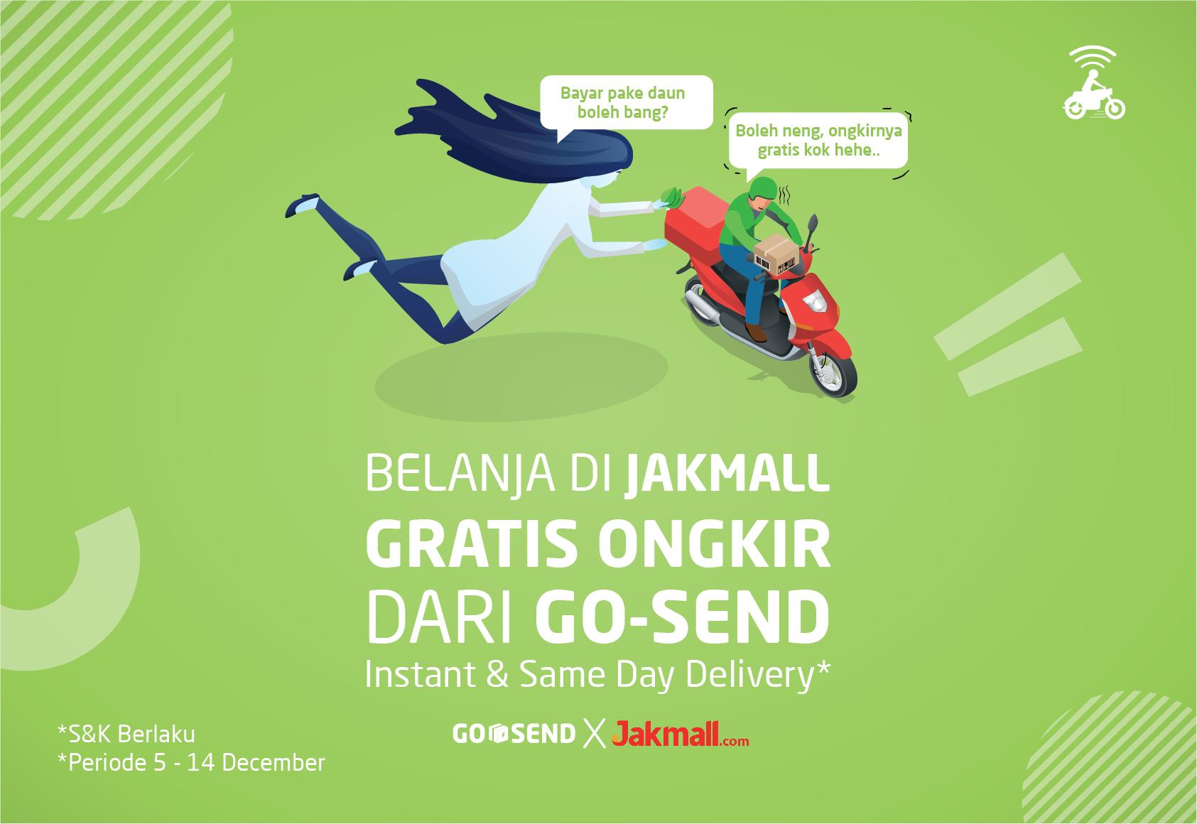 GO-SEND x Jakmall