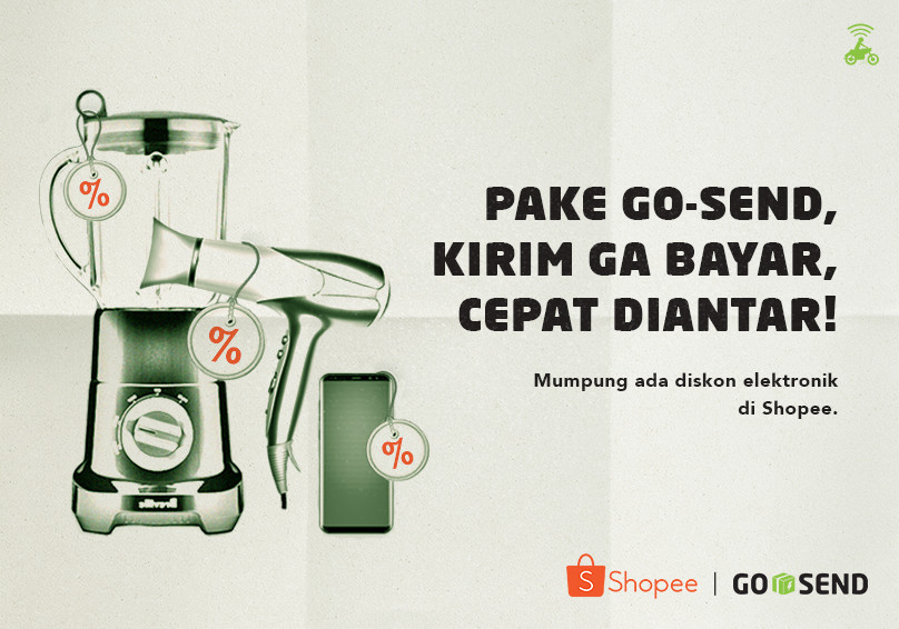 GO-SEND x Shopee