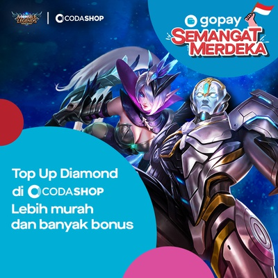 Promo Top Up Mobile Legends (ML) (Agustus 2019): 20