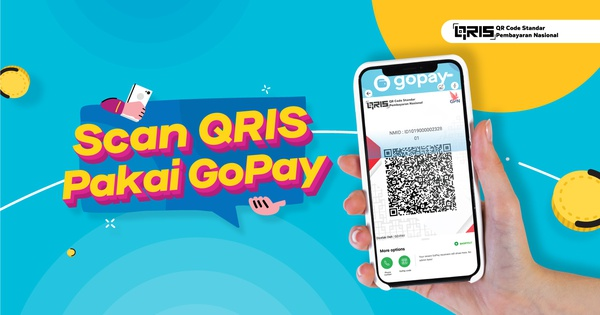 Scan Pakai Gopay Di Qris Kode Qr Dari Bank Indonesia Gopay