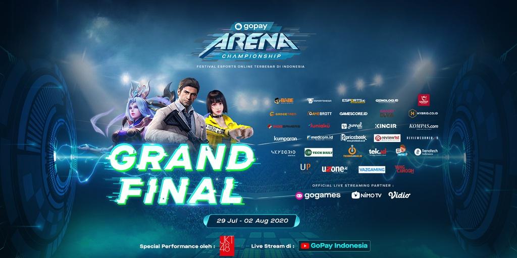 Grand Final Gopay Arena Championship Buat Kamu Yang Seriusmain Saatnya Jadi Juara Gopay