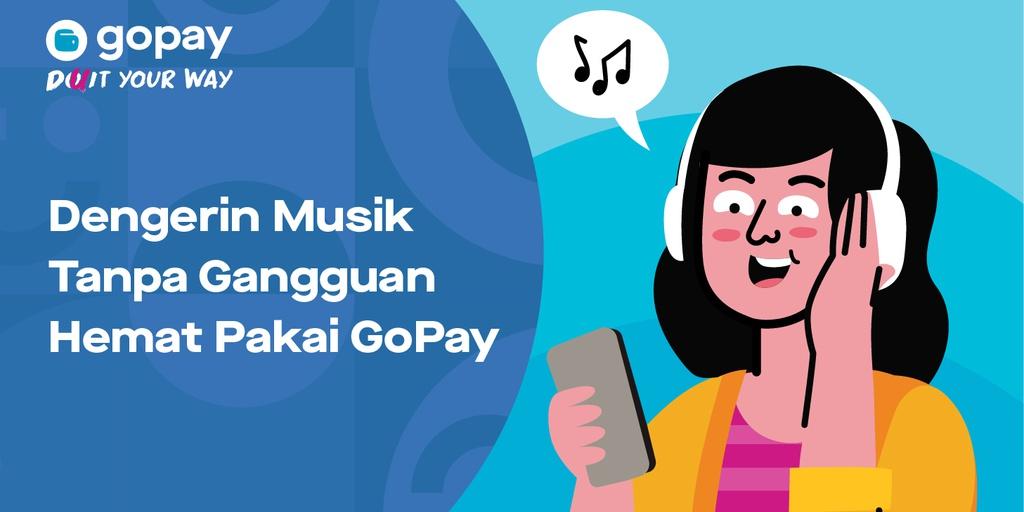 Promo Langganan Spotify Premium Cashback 50 Hingga Rp20 000 Gopay
