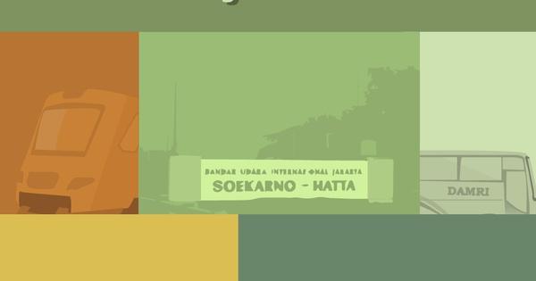 Transportasi Dari Bandara Soekarno Hatta Ke Kota Dan Sebaliknya Gojek
