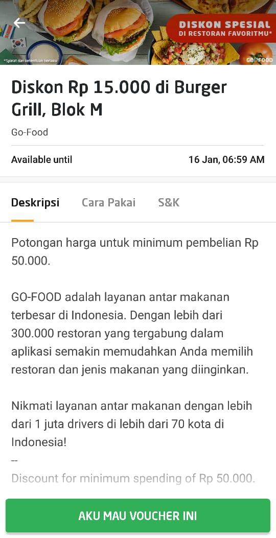 Cara Mendapatkan Voucher GO-FOOD