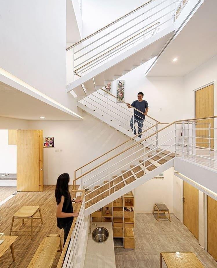 Splow House Delution Architect: 7 Model Rumah Minimalis Keren Karya Arsitek Indonesia