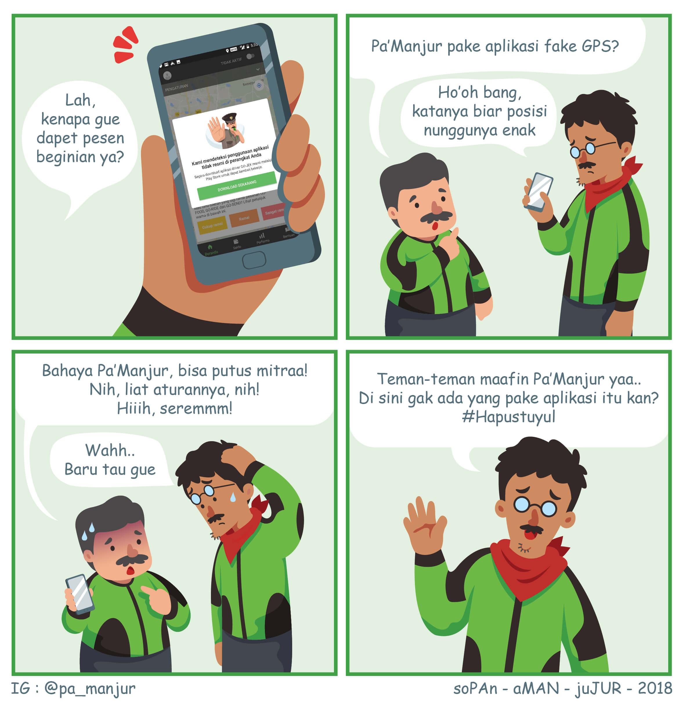Download Tuyul, Pasang APK Fake GPS, Aplikasi Mod Gacor? Yuk Hapus