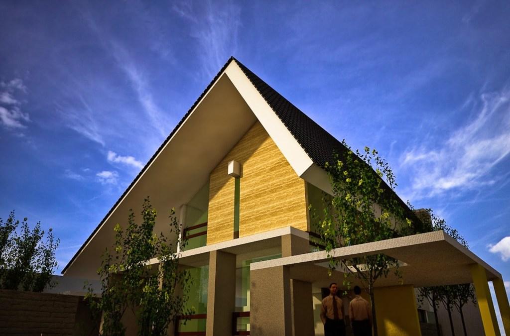 48 Ide Desain Atap Rumah Agar Tidak Panas HD Terbaik Download Gratis