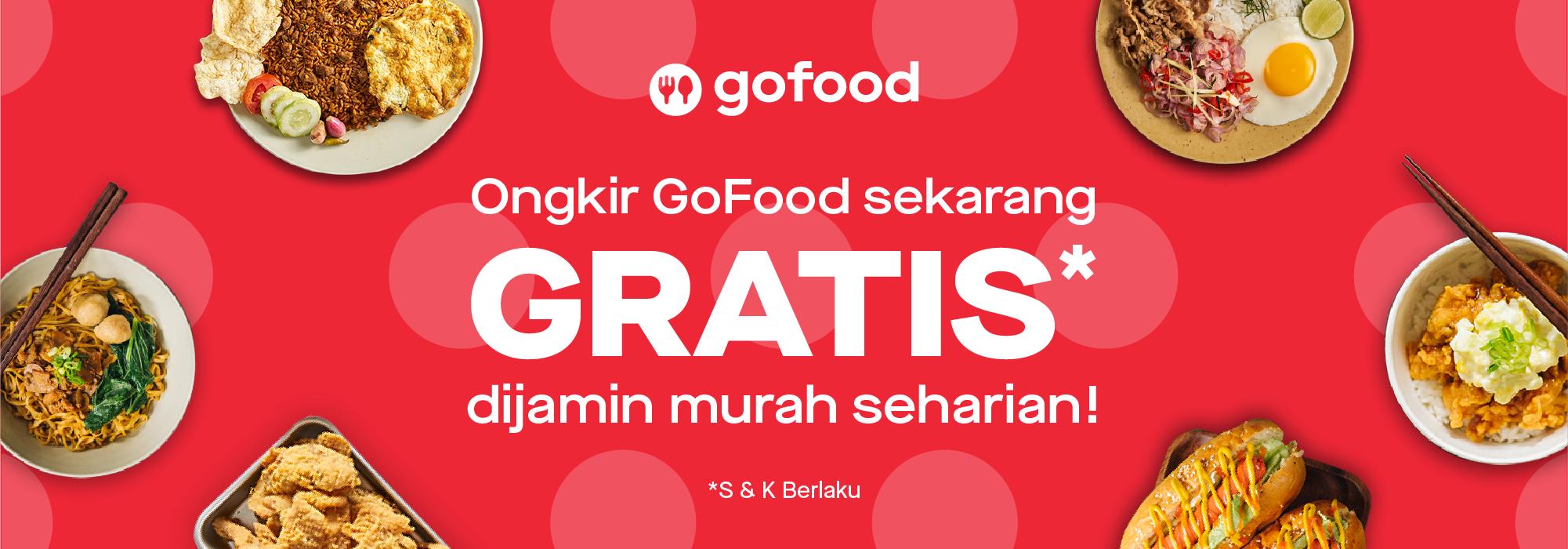 Promo GoFood Agustus 2019: Diskon Hingga 25% & Gratis