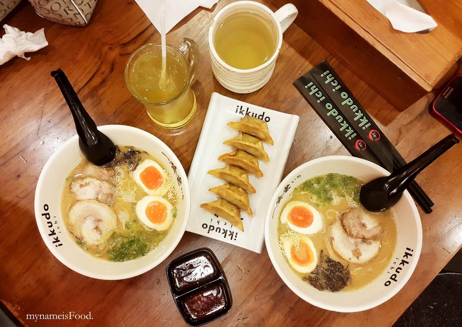 Ikkudo Ichi (c) my name is Food
