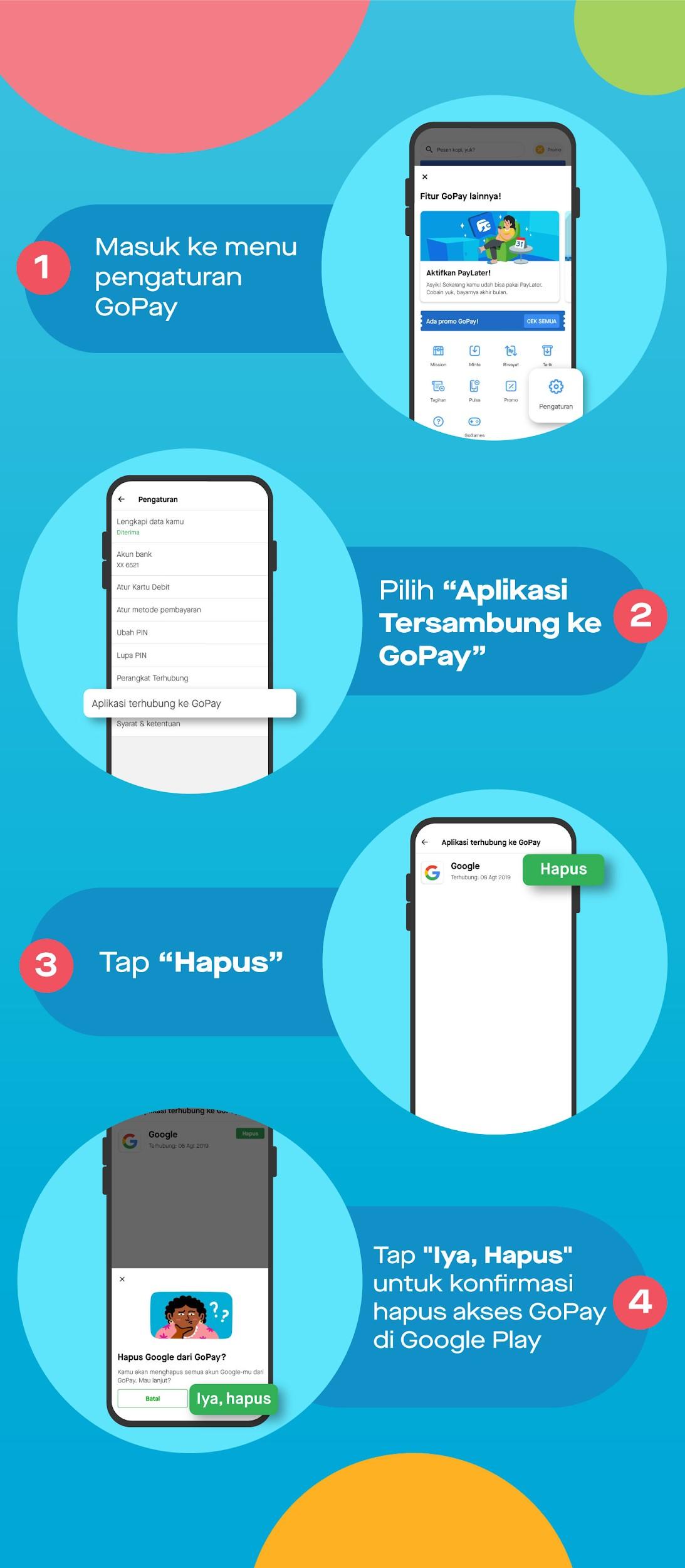 Cara Aktivasi Gopay Di Google Play Reedem Kode Promo Gopay