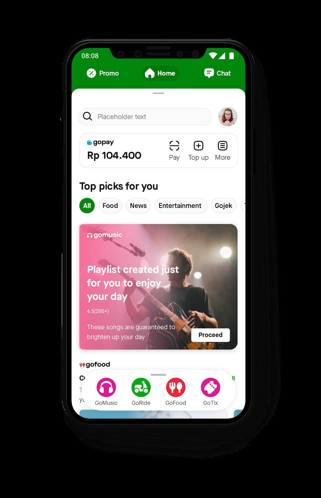 Update Tampilan Baru Gojek Akses Layanan Apapun Jadi Makin Gampang Gojek