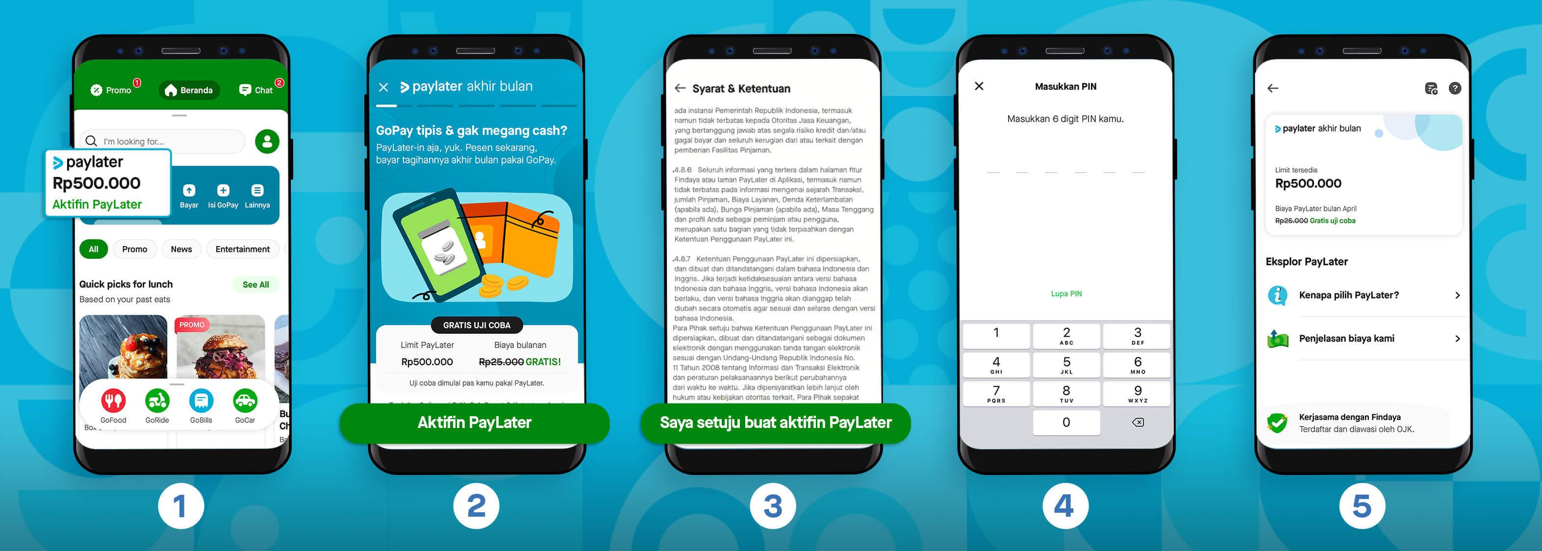cara akses PayLater