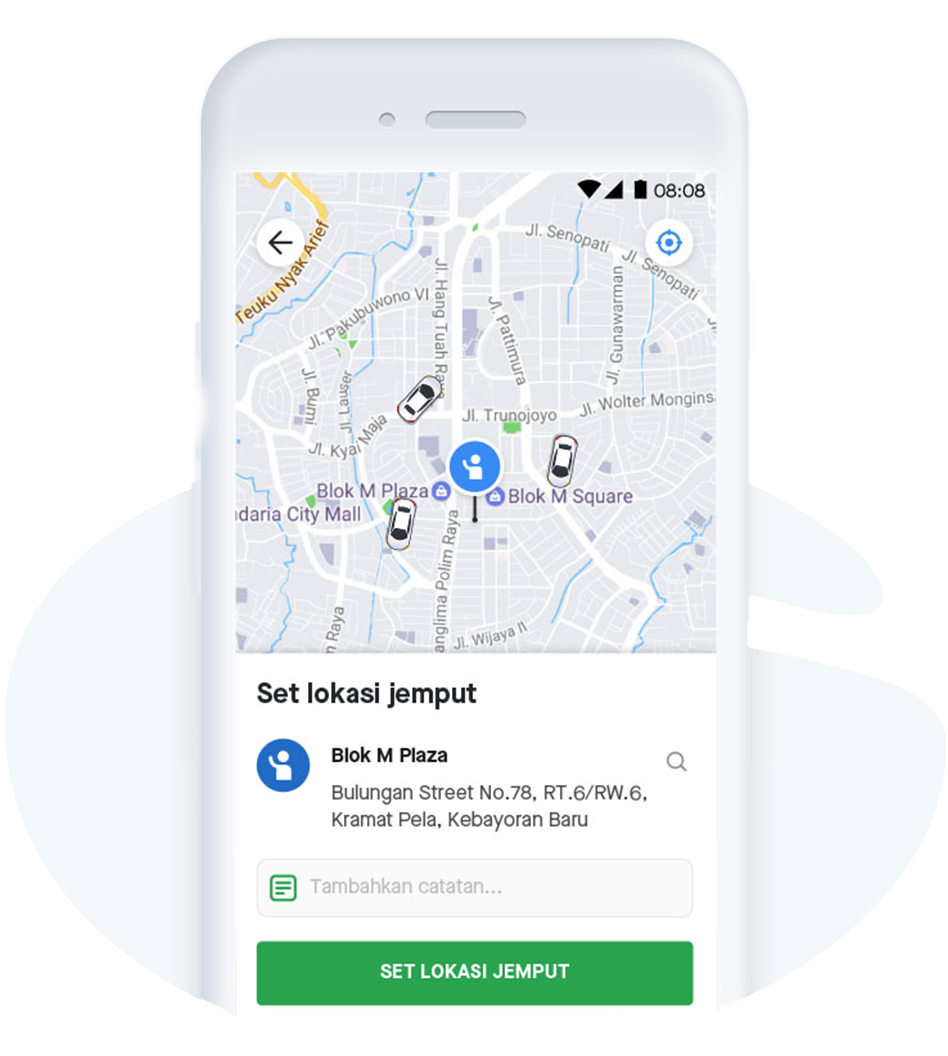 Gopay Gojek: GoCar: Download Aplikasi Taksi Online Terbaik & Terpercaya