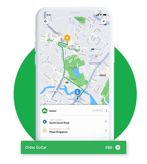 Gojek Singapore: Ride-Hailing Transport Services