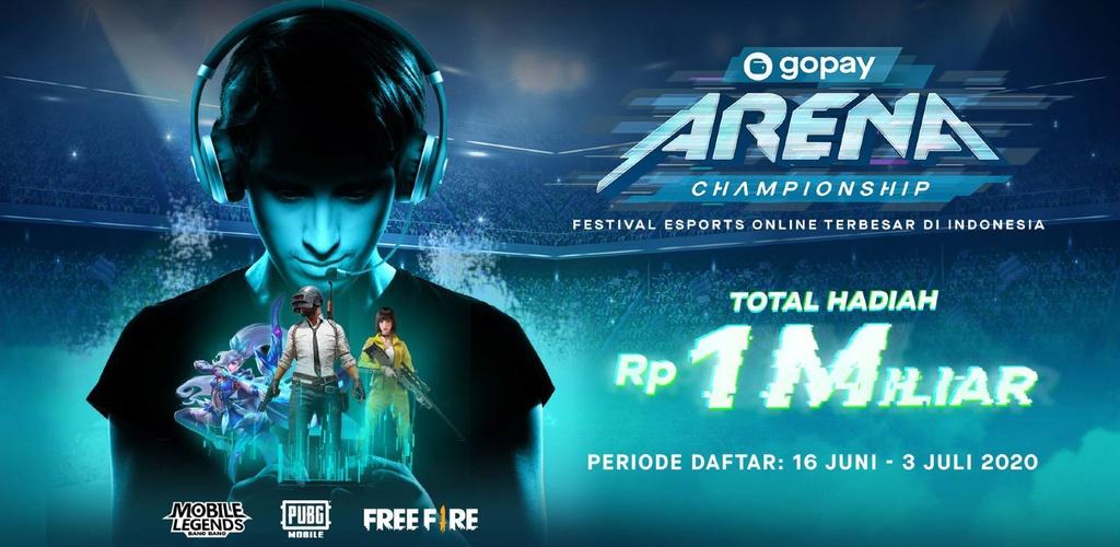 Pendaftaran Turnamen GoPay Arena Championship 2020 Diperpanjang