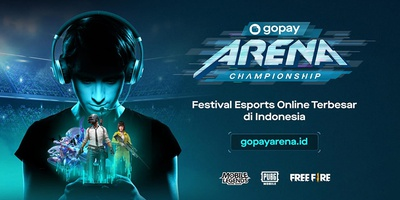 Lebih dari 30.000 Gamer Siap Berlaga di Gopay Arena Championship!