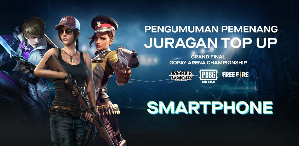 PENGUMUMAN PEMENANG JURAGAN TOP UP