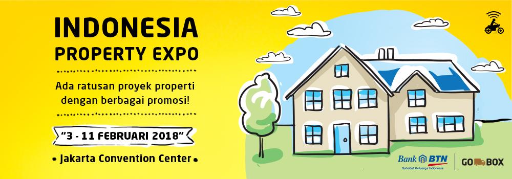 Cari Rumah jadi Mudah di Indonesia Property Expo 2018