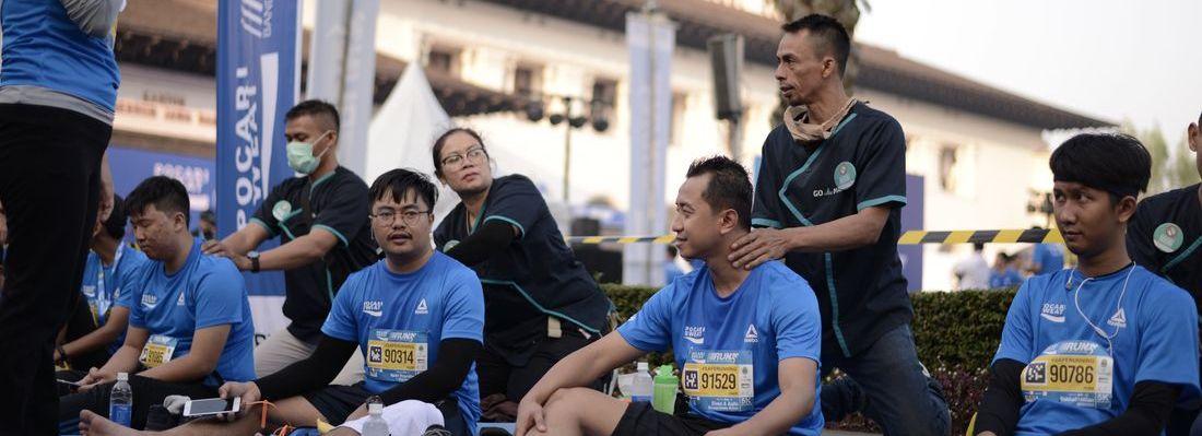 Keren! Ratusan Mitra GoClean & GoMassage Berartisipasi di Pocari Sweat Run Bandung 2019