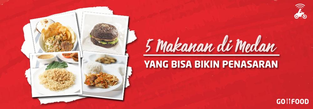 Daftar Delivery Makanan Medan Terbaru (Januari 2019)