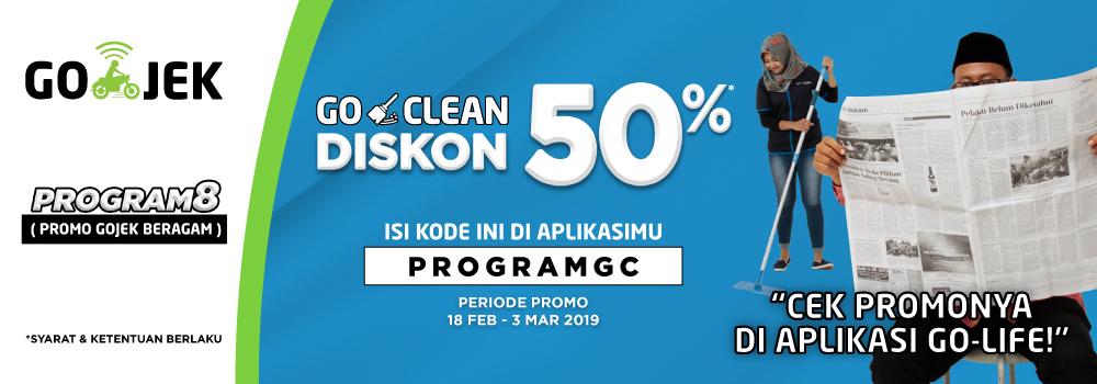 PROGRAM BERSIHISASI GO-CLEAN 50%