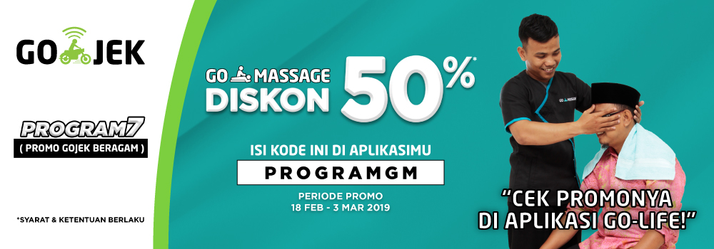 PROGRAM RESTRUKTURISASI Otot Kaku GO-MASSAGE 50%