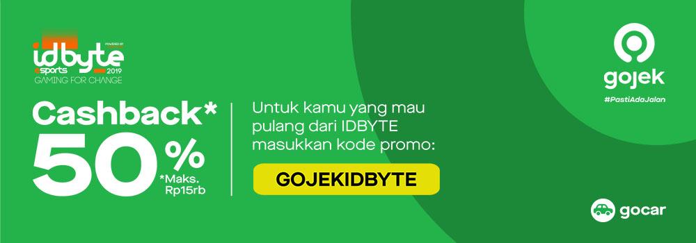 Gamers, Siap-Siap! Kejutan dari Gojek Menantimu di IDBYTE 2019