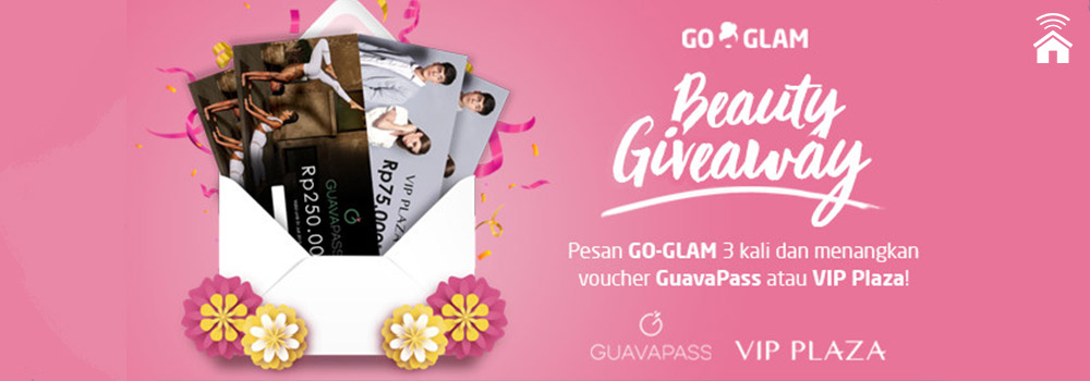 BEAUTY GIVEAWAY: Pesan Go-Glam 3x, Dapat Bonus!