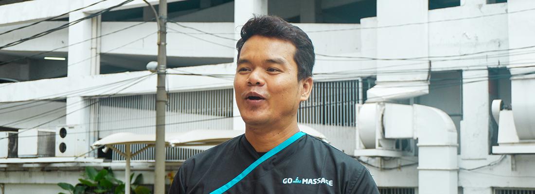 Bapak Irpan Achmad, Belajar Teknik Massage Sampai ke Bali