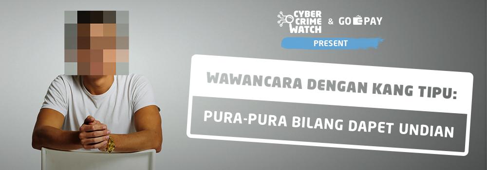 Wawancara Kang Tipu: Pura-Pura Bilang Dapet Undian | GO-PAY