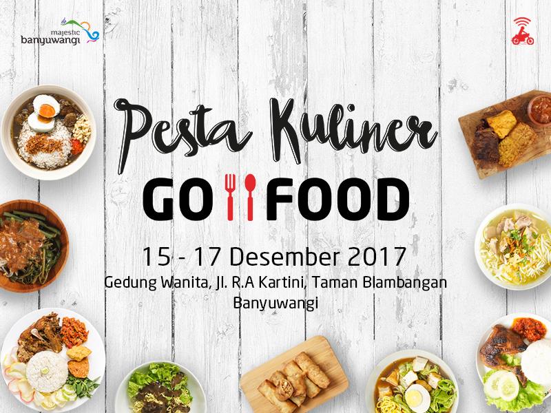 Pesta Kuliner GO-FOOD Hadirkan Cita Rasa Kuliner Lokal Banyuwangi