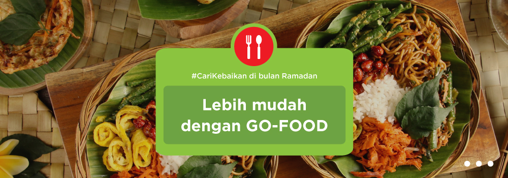 #CariKebaikan Bersama GO-FOOD Sebulan Penuh