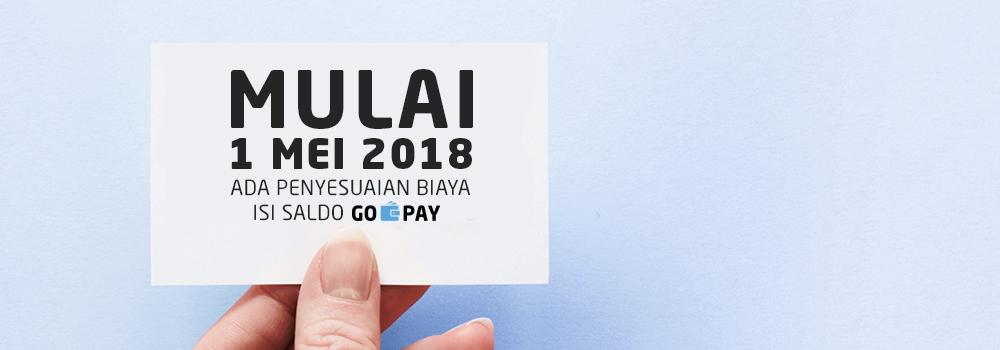Ada Tarif Rp1.000 Tiap Isi Saldo GO-PAY Melalui Tujuh Bank   GoPay