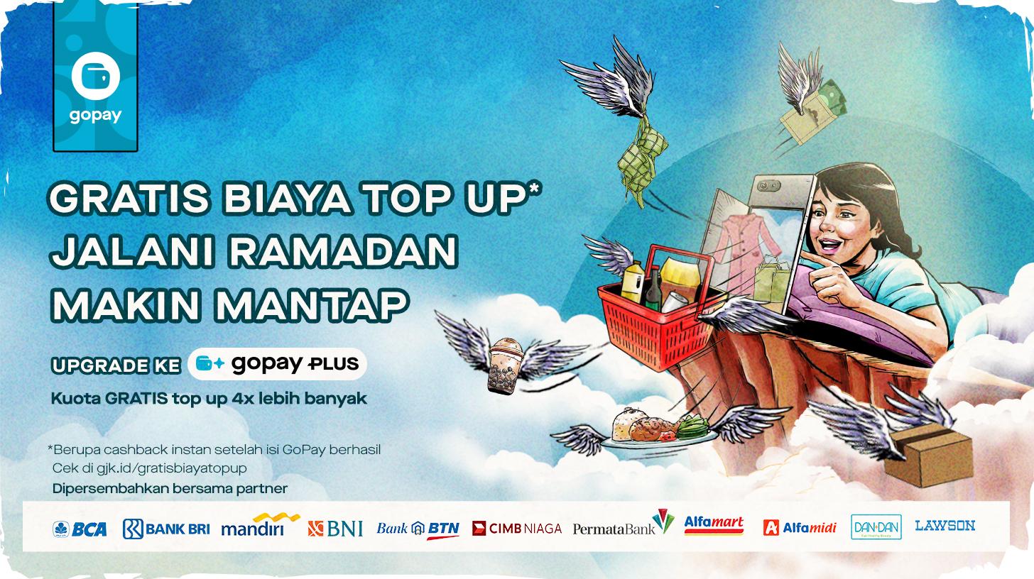 Promo Bank Mei 2020: Isi Saldo GoPay Gratis Biaya Top Up Melalui ...