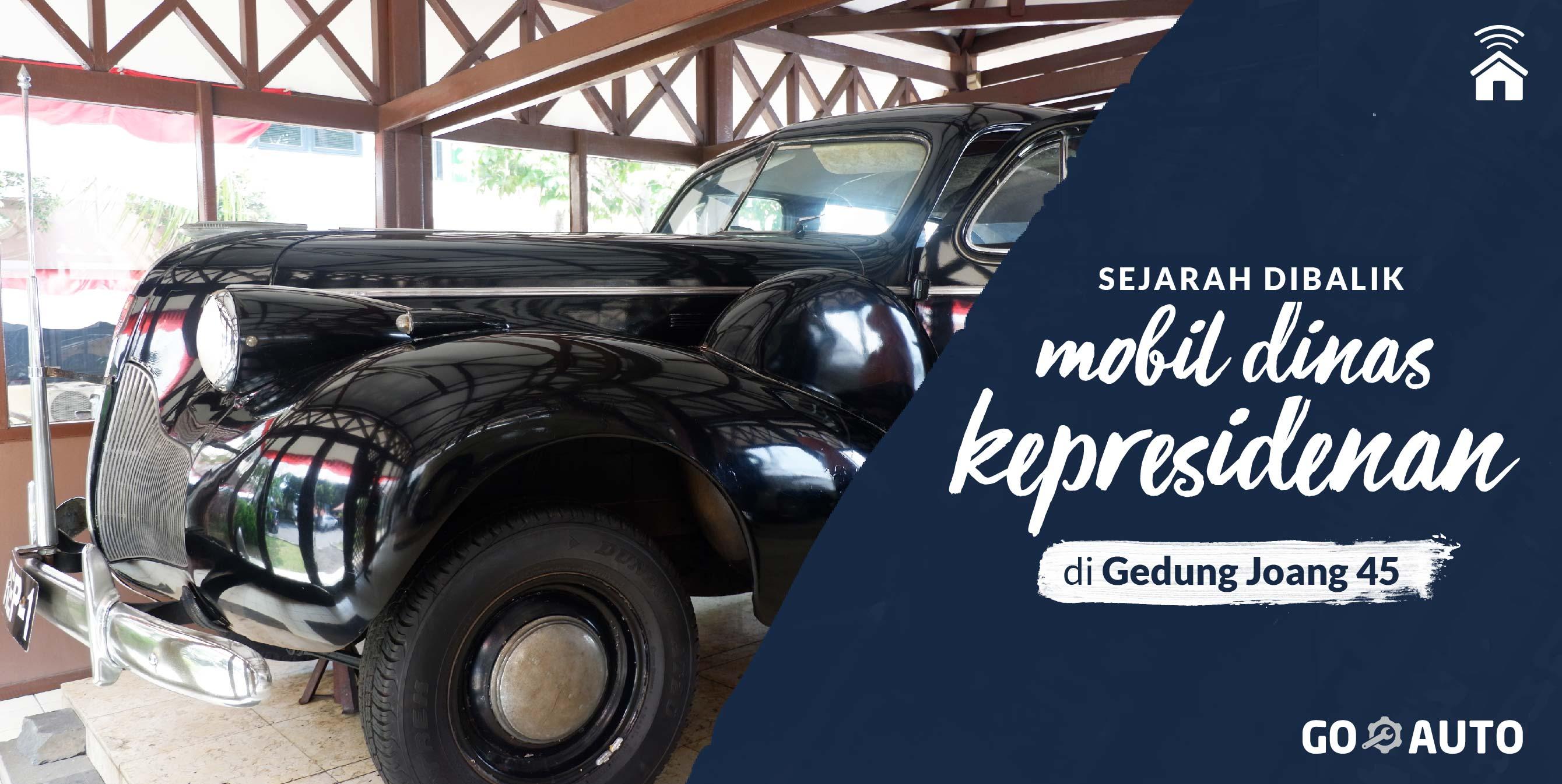 72 Tahun di Garasi, Beginilah Kondisi Mobil Soekarno-Hatta