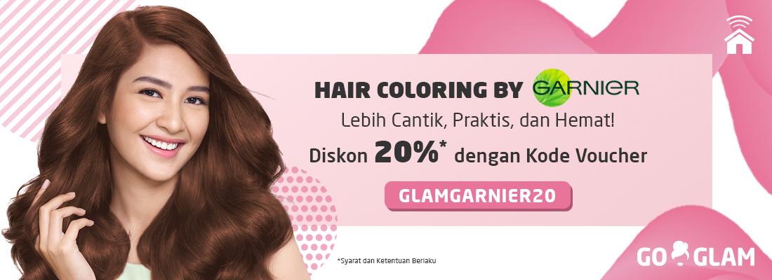 Hair Coloring by Garnier, Lebih Cantik, Praktis, & Hemat!