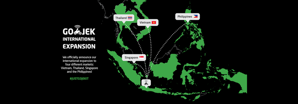 GO-JEK to Launch International Expansion Into Four New Markets