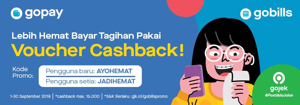 Promo GoBills September 2019: Lebih Hemat Bayar Tagihan