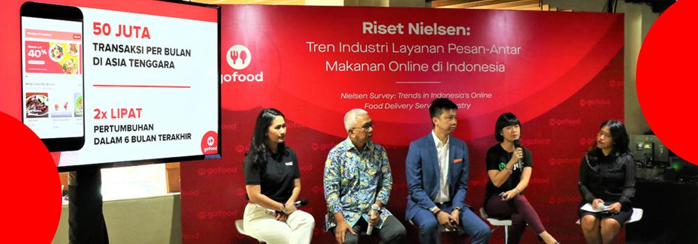 GoFood Terus Memimpin Pasar Layanan Pesan-Antar Makanan di Indonesia