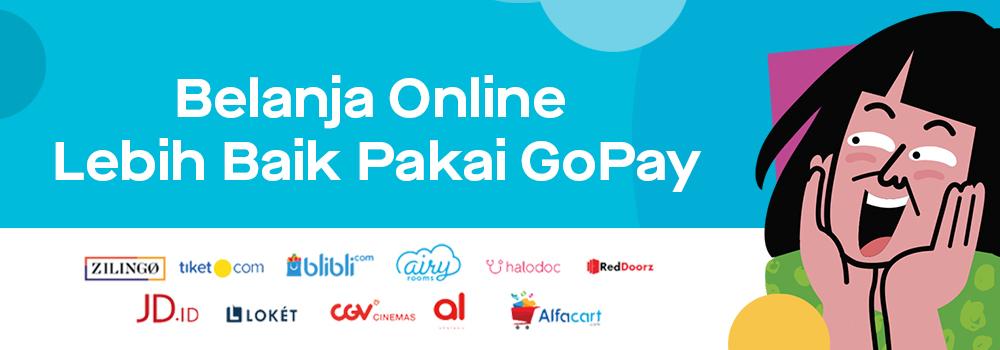 Promo Belanja Online Oktober 2019: Pakai GoPay di Situs Jual Beli Online Favoritmu