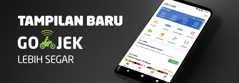 Aplikasi GO-JEK Jadi Lebih Kamu Banget di Versi Terbaru