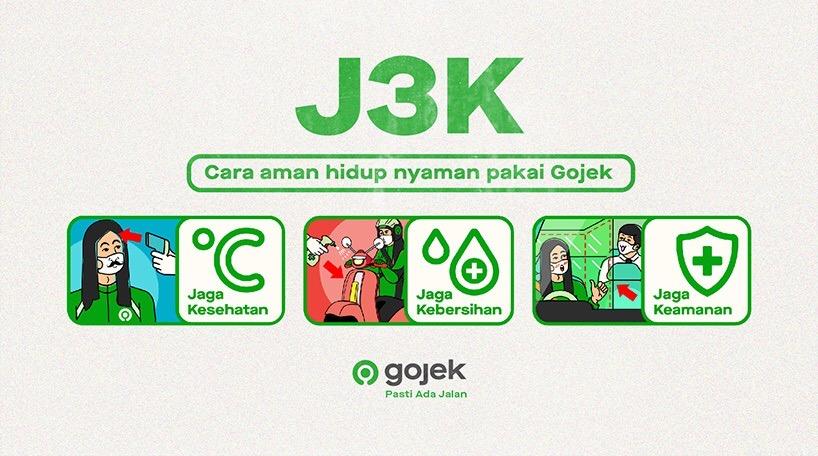 Jadi Andalan Masyarakat Di Tatanan Hidup Baru Gojek Luncurkan Inisiatif J3k Gojek