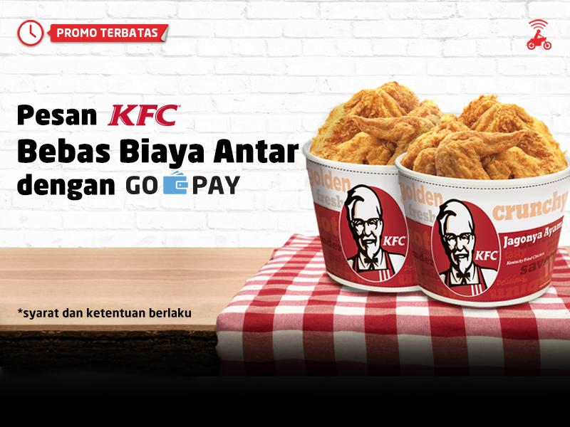 Pesan Menu Favoritmu di KFC dan Nikmati Gratis Biaya Antar!