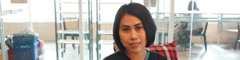 Ibu Lita Samiana, Single Parent yang Berjuang untuk Anak-Anaknya