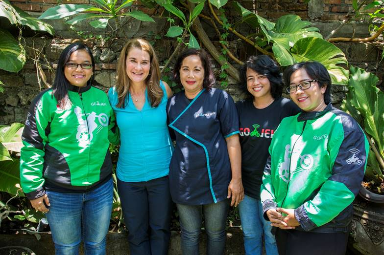 Melinda Gates: GO-JEK As a Model For Harnessing Technology for Inclusive Growth
