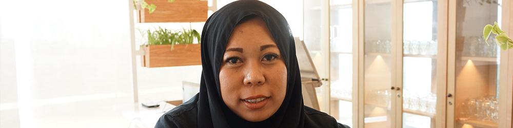 Ibu Mulyana Dewi, Bekerja Total Demi Masa Depan