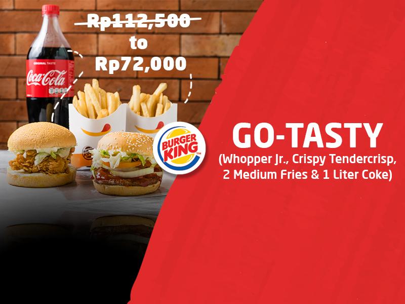 Pesan GO-TASTY di GO-FOOD Hanya Rp72.000